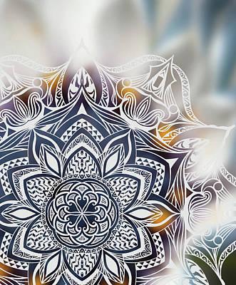 Nature And Mandala Original by Beltolls Art