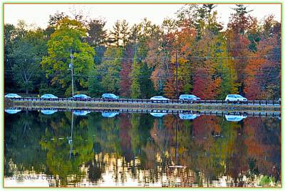 Nature And Manmade Reflections Art Print