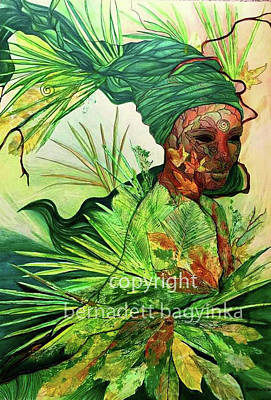 Digital Art - Nature Element by Bernadett Bagyinka