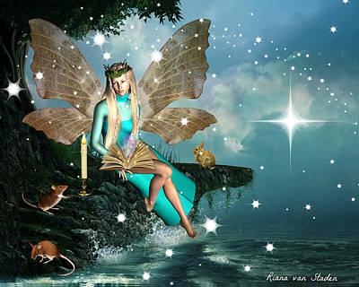 Digital Art - Nature Fairy  by Riana Van Staden