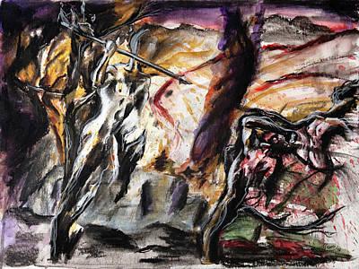 Nature Falls Original by Carlos Flores