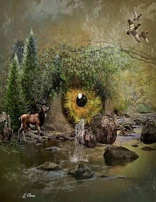 Nature Has No Time Art Print