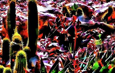 Photograph - Nature In Abstract 48 by Kristalin Davis