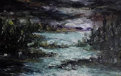 Painting - Nature In Night by Rushan Ruzaick