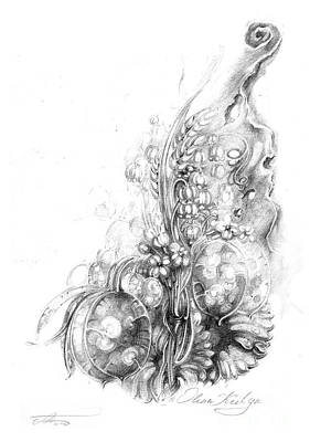 Nature Inspiration Print by Olena Kulyk