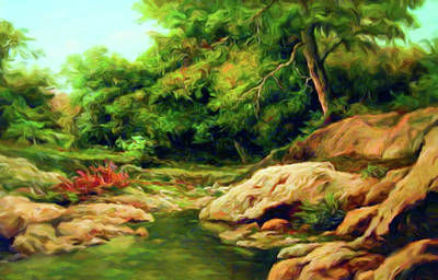 Nature Is Beautiful Impressionism Art Print