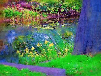Tresses Painting - Nature Is Great by Deborah MacQuarrie-Selib