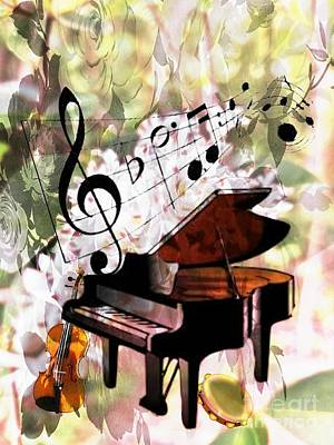 Mixed Media - Nature Is Music To My Soul by Maria Urso