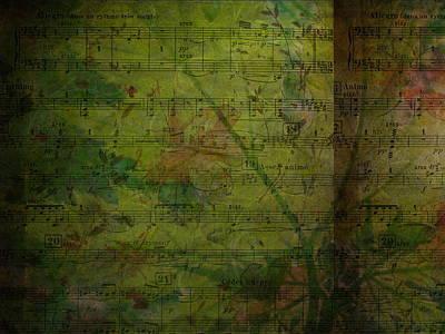Digital Art - Nature Is My Music 1 by Rhonda Barrett