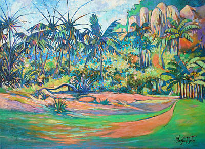 Painting - Nature Isle by Glenford John