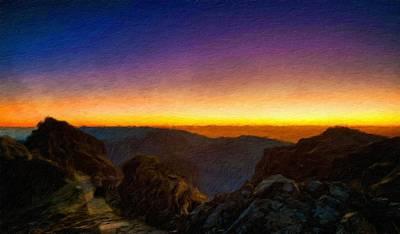 Winter Painting - Nature Landscape Wall Art by Margaret J Rocha