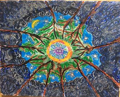Mixed Media - Nature Mandala by Joanna Whitney