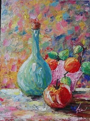 Painting - ''nature Mortre'' by Asia Dzhibirova