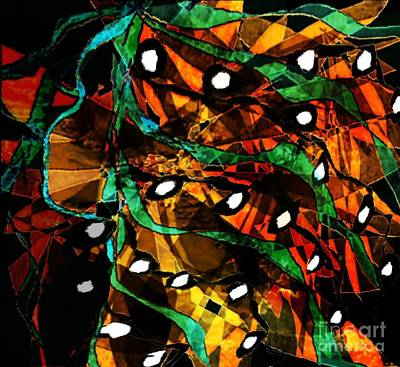 Painting - Nature Patterns by Navo Art