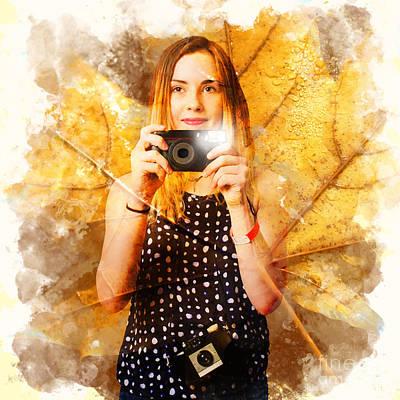 Nature Photography Workshop Art Print