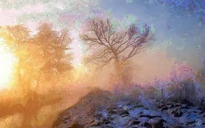 Morning Light Digital Art - Nature Poetry by Gun Legler