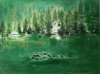 Contemporary Ethnic Artist Painting - Nature  by RakshaArt