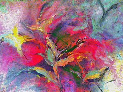 Painting - Nature Spirits Original by Lisa Kaiser