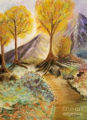 Mixed Media - Nature Trail by Maria Urso