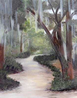 Painting - Nature Trail by Shirley Lawing