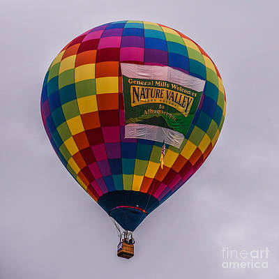Photograph - Nature Valley Balloon by Grace Grogan