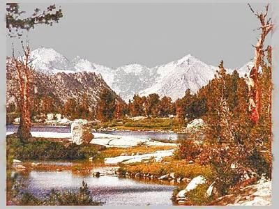 Digital Art - Nature Valley by Mario Carini