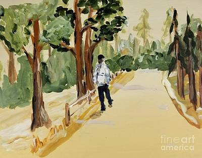 Painting - Nature Walk by Maria Langgle