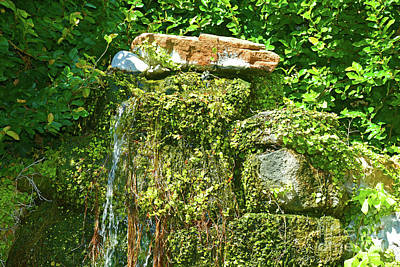 Photograph - Nature Waterfall by Ray Shrewsberry