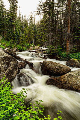 Creek Photograph - Nature Waterworks by James BO  Insogna