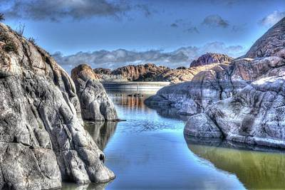 Prescott Photograph - Nature's Artistic Beauty by Thomas Todd