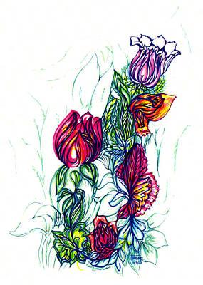 Natures Beauty Art Print by Judith Herbert
