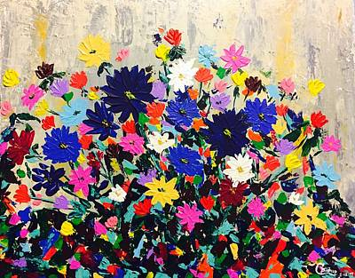Painting - Natures Bouquet  by Chris Bishop
