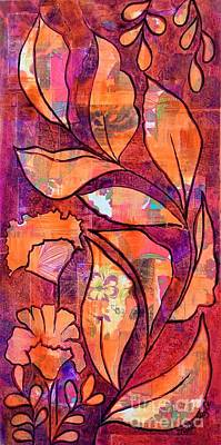 Mixed Media - Nature's Dance by Julie Hoyle