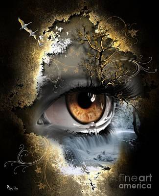 Natures Eye Art Print