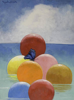 Painting - Nature's Fiesta by Paul Collins