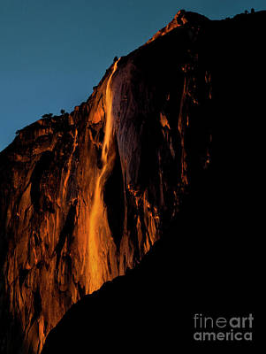 Photograph - Natures Fire Fall by Richard Verkuyl