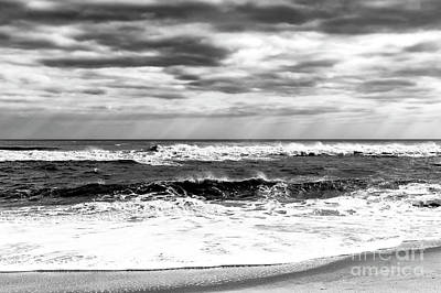 Photograph - Nature's Force On Long Beach Island by John Rizzuto