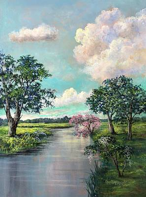 Painting - Nature's Garlands by Randy Burns