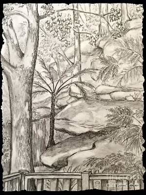 Drawing - Nature's Gifts 2 by Leanne Seymour