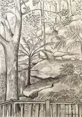 Drawing - Nature's Gifts by Leanne Seymour