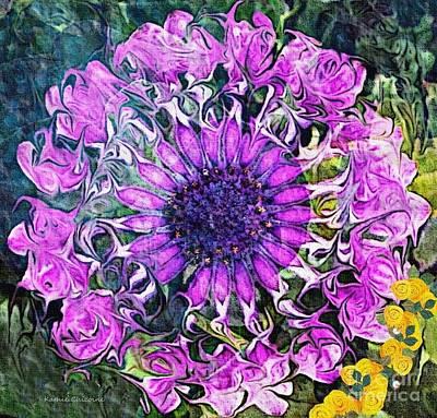 Digital Art - Nature's Mandala by Kathie Chicoine