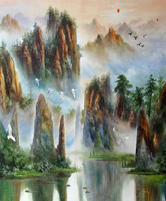 Painting - Natures Oil Painting Art by Sheila Mcdonald
