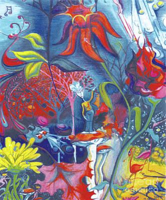 Natures Overature Original by Genevieve Esson