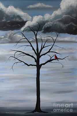 Painting - Nature's Power by Stacey Zimmerman