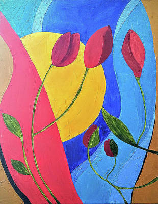 Natures Reflection  Original by Gilda Betancourt