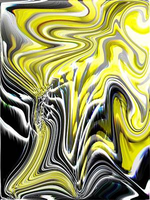 Nature Abstract Digital Art - Natures Release by Tim Allen