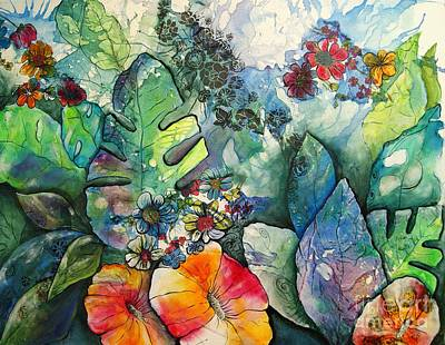 Mixed Media - Nature's Reveal By Reina Cottier by Reina Cottier