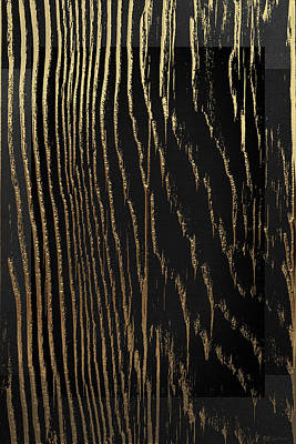 Digital Art - Nature's Secret Code - The Wood Grain Message #4 by Serge Averbukh