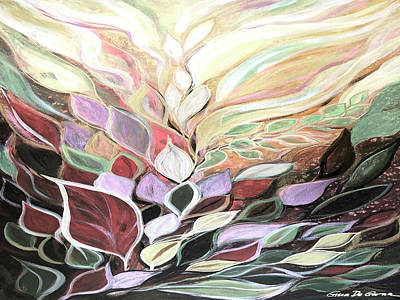 Painting - Nature's Splendor 2 by Gina De Gorna