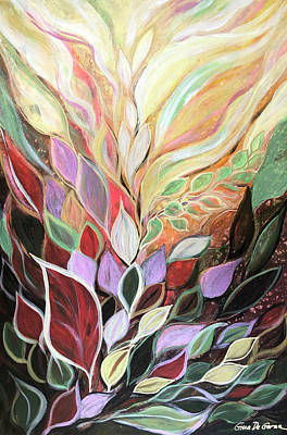 Painting - Nature's Splendor by Gina De Gorna